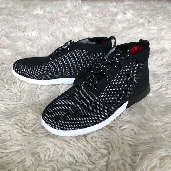 dd8959b6436 NWT/NWB Freamon Hyper-weave Black Shoes
